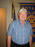 Lake area Rotarian Charles Niemann