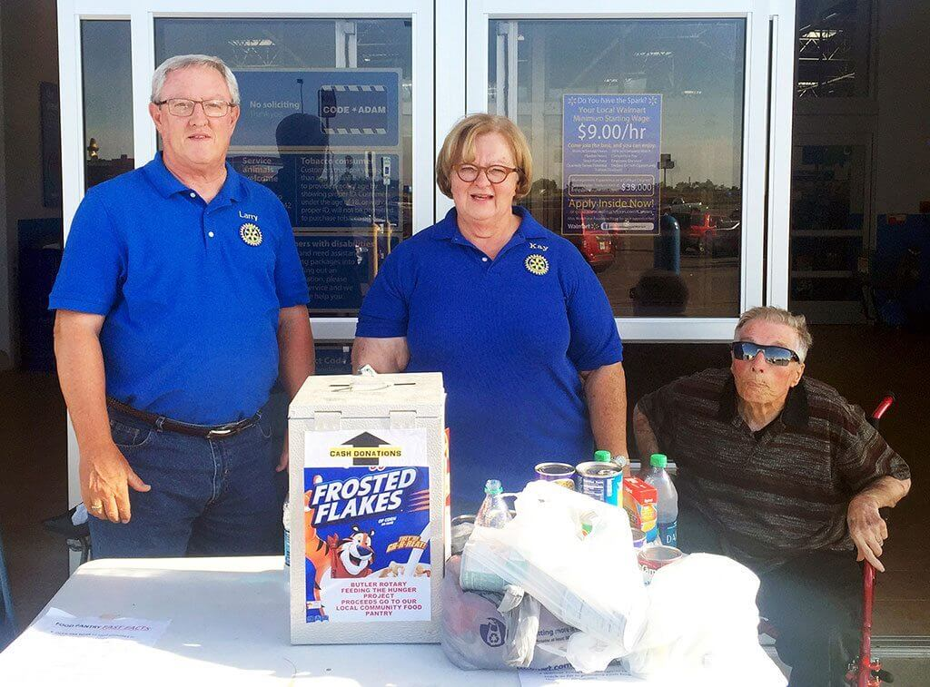 Rotarians Fight Hunger Through Month Long Efforts Rotary District 6080