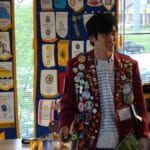Taku Shitara presenting