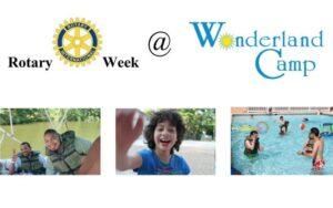 Wonderland Camp Rotary Week July 24
