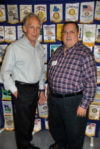 Salem: Ty Richards, president, and Ray Walden, president-elect.