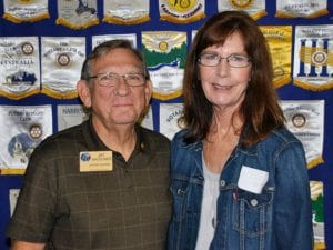 Willow Springs: Jay Waggoner, assistant governor, and Teresa Waggoner, president-elect.