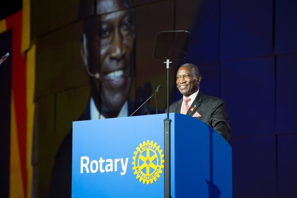 Rotary President-elect Sam F. Owori died Thursday.
