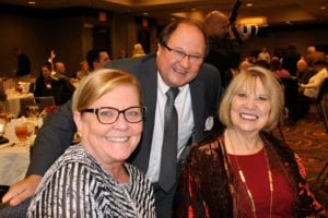 Debbie Laughlin, Les Borgmeyer, Sherry McCarthy