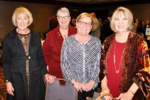 Fulton representatives Jan Reyes, Mary Ann Beahon, Debbie Laughlin, Sherry McCarthy