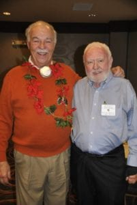 Poinsettia King Joe Weston with Jerry Murrell
