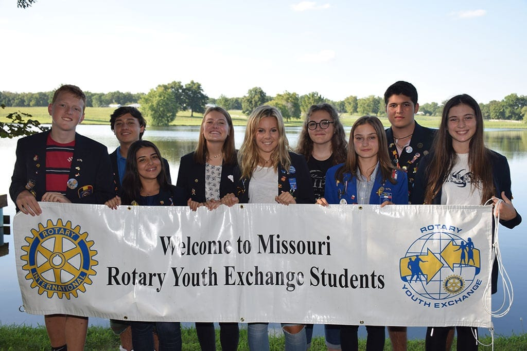 2018-2019 Inbound Class of Youth Exchange Students