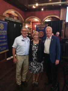 AG Jim Standfast and Rolla Noon Pres Joyce Thomas