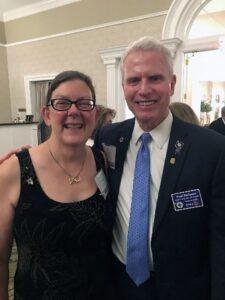 Springfield Club President Tammy Jahnke