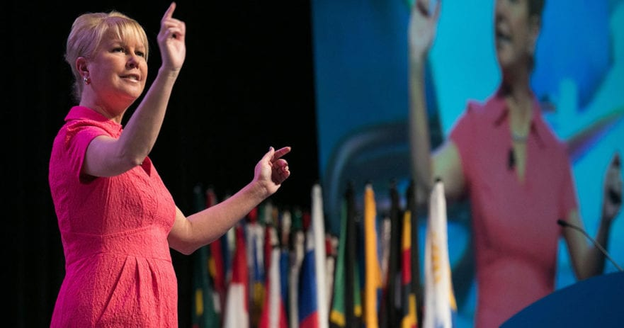 Jennifer E. Jones makes history, becomes first woman named Rotary president-nominee
