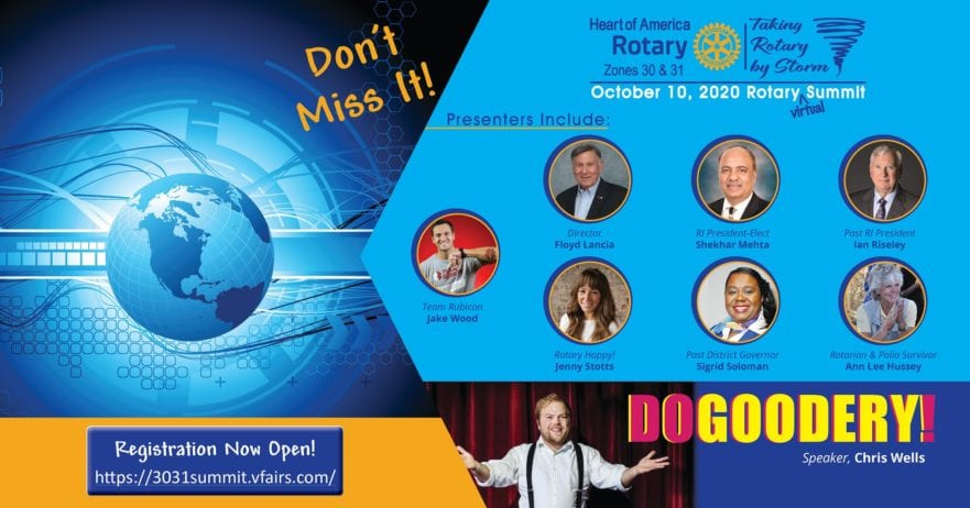 2020 Rotary Summit – Taking Rotary by Storm